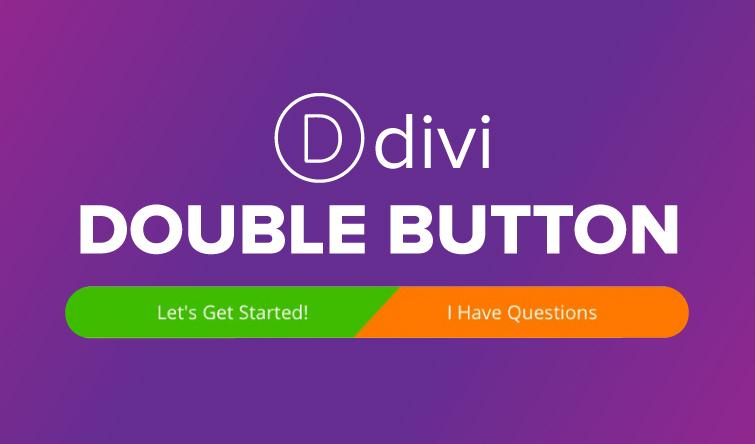 Divi Double Button