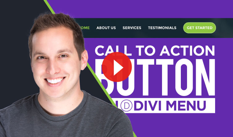 How to Create a Call To Action Button for the Divi Menu
