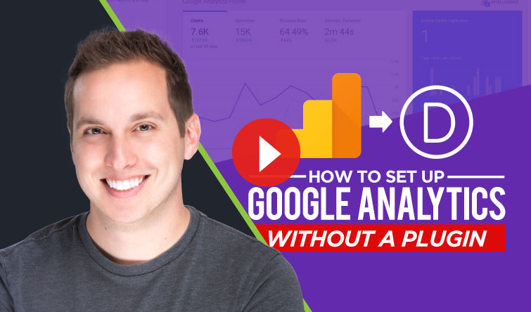 How to Set Up Google Analytics in Divi (without a plugin)