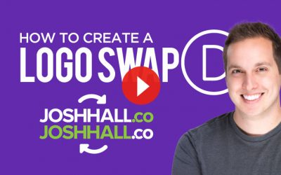 How to Create a Logo Swap Effect in Divi