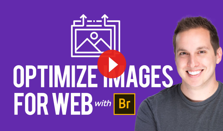 Optimizing Images for Web with Adobe Bridge