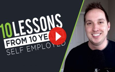10 Lessons Learned in 10 Years of Self Employment