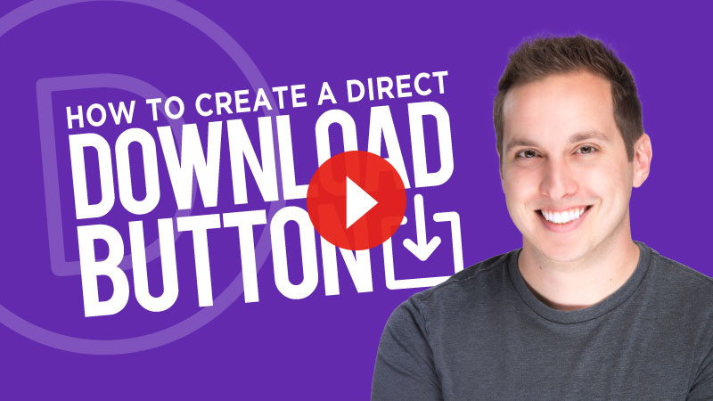 How to Create a Direct Download Button in Divi