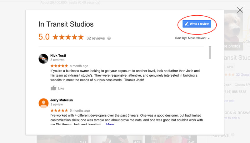 How to Create a Google Review Link - JoshHall co