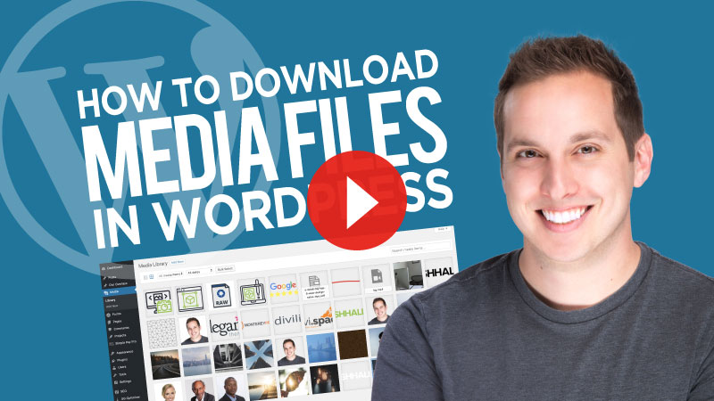 How to Download Media Files in WordPress