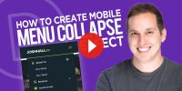 How to Create a Divi Mobile Menu Collapse Effect
