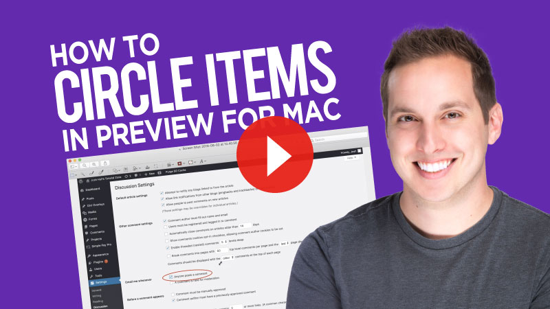 How to Circle (or Highlight) Items with Preview on Mac