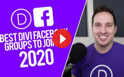 Best Divi Facebook Groups to Join in 2020