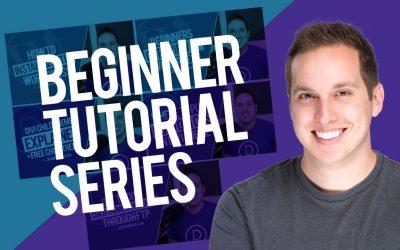 Divi/WordPress Beginner Tutorial Series (2020)