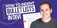 How to Indent Bullet Lists in Divi