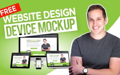 Free Website Design Device Mockups (PSD Template Download)