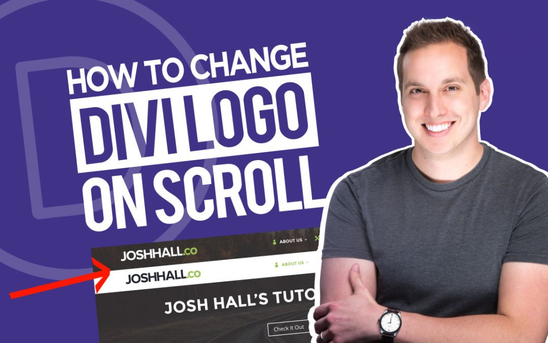 How to Change the Divi Logo on Scroll