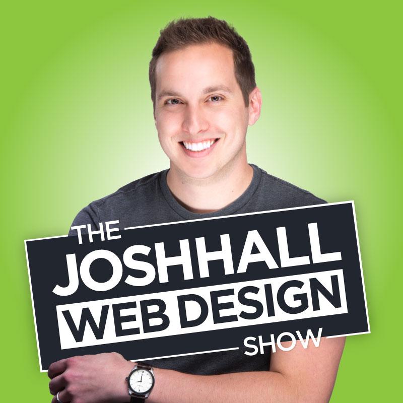 Josh Hall Web Design Show Podcast Logo